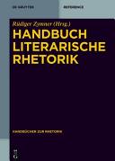 Handbuch Literarische Rhetorik PDF
