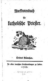 Anecdotenbuch für katholische Priester. 4 Taf: Band 3