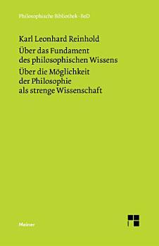 ber das Fundament des philosophischen Wissens  1791  PDF