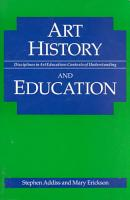 Art History and Education PDF