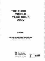 The Europa World Year Book 2007