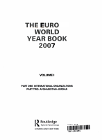 The Europa World Year Book 2007 PDF