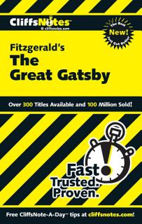 CliffsNotes on Fitzgerald s The Great Gatsby Book