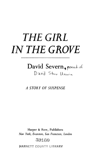 The Girl in the Grove