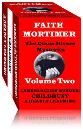 The Diana Rivers Mysteries - Volume Two: Boxed Set of 3 Murder Mystery Suspense Novels