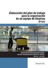 UF1093 - Elaboración del plan de trabajo para la organización de un equipo de limpieza