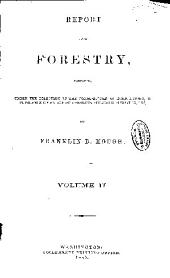 Report on Forestry ...