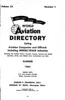 World Aviation Directory Listing Aviation Companies and Officials
