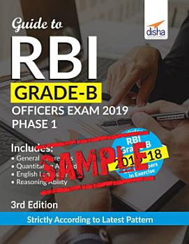 FREE SAMPLE  Guide to RBI Grade B Officers Exam 2019 Phase 1   3rd Edition PDF
