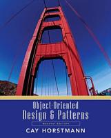 Object Oriented Design and Patterns  2nd Edition PDF