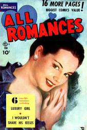 All Romances, Volume 4, Luxury Girl
