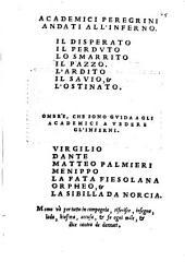 I Mondi: Inferni Del Doni Academico Pellegrino : Libro Secondo De Mondi, Volume 2