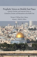 Prophetic Voices on Middle East Peace PDF