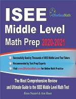 ISEE Middle Level Math Prep 2020-2021