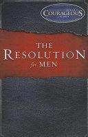 The Resolution for Men