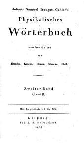 Physikalisches wörterbuch: Band 2