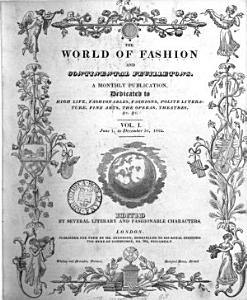 The World of fashion and continental feuilletons  afterw   The Ladies  monthly magazine  The World of fashion  afterw   Le Monde   l  gant  or The World of fashion PDF