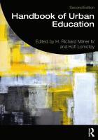 Handbook of Urban Education PDF