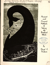 Ancient and Current Methods of Taking the Bowhead Whale
