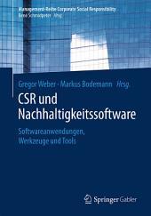 CSR und Nachhaltigkeitssoftware: Softwareanwendungen, Werkzeuge und Tools