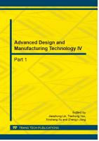 Advanced Design and Manufacturing Technology IV PDF