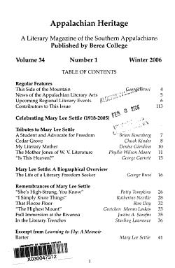 Appalachian Heritage PDF