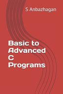 Basic to Advanced C Programs PDF