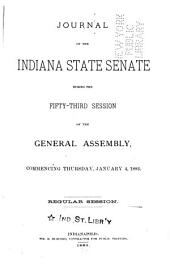 Journal of the Indiana State Senate During the ... Session of the General Assembly
