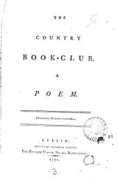 The Country Book-club. A Poem: Volume 3