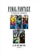 Download Final Fantasy Ultimania Archive Volume 3 Book