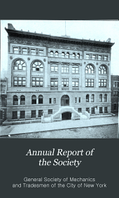 Annual Report of the Society