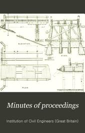 Minutes of Proceedings of the Institution of Civil Engineers: Volume 124