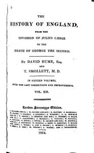 The History of England from the Invasion of Julius Caesar to the Death of George the Second PDF