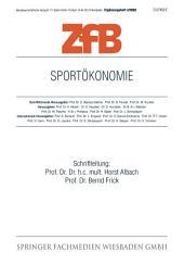 Sportökonomie