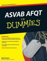 ASVAB AFQT For Dummies PDF