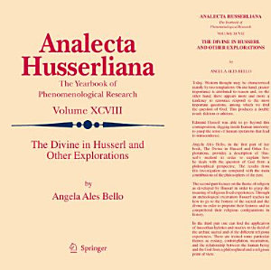 The Divine in Husserl and Other Explorations PDF