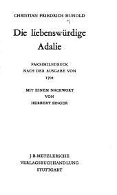 Die liebenswürdige Adalie