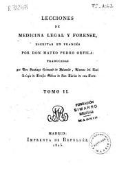Lecciones de medicina legal y forense: Volumen 2