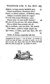 P. Ovidii Nasonis Tristium libri quinque Ex Ponto libri IV. et Ibis: Volume 1