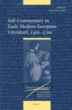 Self Commentary in Early Modern European Literature  1400 1700 PDF