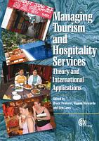 Managing Tourism and Hospitality Services PDF