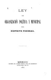 Ley de organización política y municipal del Distrito Federal