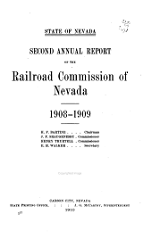 Reports of the Railroad and Public Service Commissions of Nevada: Volumes 2-4