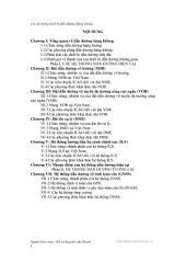 CÁC HỆ THỐNG DẪN ĐƯỜNG HÀNG KHÔNG: Tài Liệu