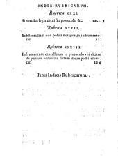 Tractatus super reassumptione Instrumentorum