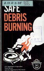 Safe debris burning
