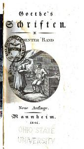 Goethe's Schriften: Band 7