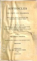 The Oedipus Tyrannus  3d ed  1893 PDF