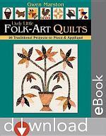 Lively Little Folk-Art Quilts
