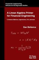 A Linear Algebra Primer for Financial Engineering PDF